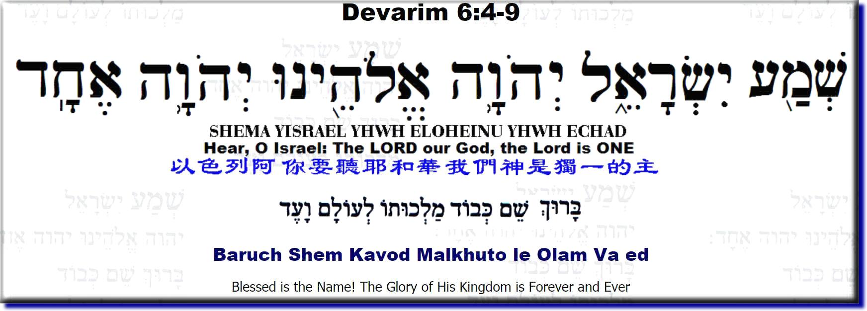 Shema Prayer Pdf